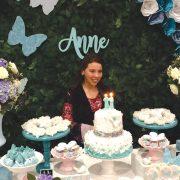 O parabéns da Anne