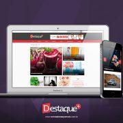 Tem novidade para você: O novo portal da revista Destaque+