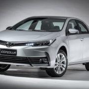 Toyota lança linha Corolla 2019