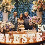 Celeste Miranda comemora 50 anos