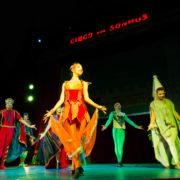 """""""Circo dos Sonhos no mundo da fantasia"""" está em cartaz no Mogi Shopping"""