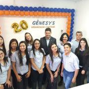 Gênesys Organização Contábil completa 20 anos
