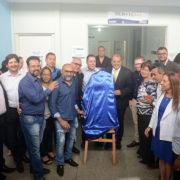 Prefeito entrega o Centro de Especialidades, que fará até 3,7 mil consultas mensais