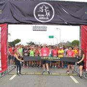 Corrida de rua promovida pela Let's Run reuniu mais de mil atletas em Arujá