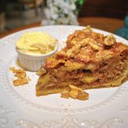 Torta rústica de banana