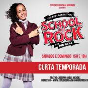"""Atriz de Arujá Mannu Silva estreia em """"School of Rock"""""""